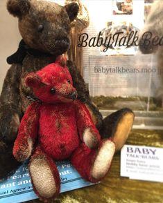 Tiny Teddies, Ishikawa, Adoption, Vintage Fashion, Teddy Bear, Japan, Toys, Artist, Baby