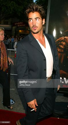 Colin Farrell during 'S.W.A.T.' Premiere at Mann Village Theatre in Westwood, California, United States.