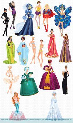 Lanitta.com :: Paper Dolls