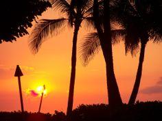 Hilton Waikoloa Sunset. #hawaii #sunsets