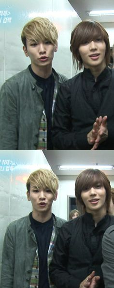 SHINee - Key & Taemin <3 *on the side note : I miss this look of Taeminieeee...
