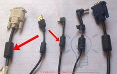 Ferrite Bead: Tiny Cylinder in Power Cords & Cable. Why? Have you ever noticed a little cylinder in a power cords and cable? Have you ever seen the same in your laptop charger cord, USB cord, Mobile charger cable cord, Printer Cord, Monitor cord, etc. even in Mouse and keyboard cable cords? Today, we are going to tell you the secret story behind it.