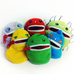Set of 6 Germusu $25.00 now featured on Fab.