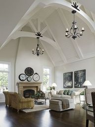 I want this in our bedroom! The attic is gone so we can have something similar.