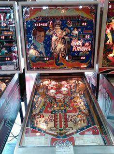 EVEL KNIEVEL pinball machine.