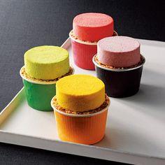 美食ブランド「フォション」が手がける新デザート。【スフレグラッセアソルティ】