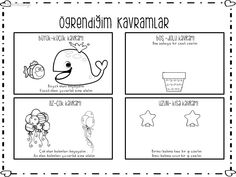 Montessori, Worksheets, Coloring Pages, Preschool, Projects To Try, Printables, Education, Comics, Note Cards