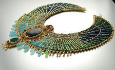 Diosa egipcia reservado lista de placa de oro por LuxVivensFashion