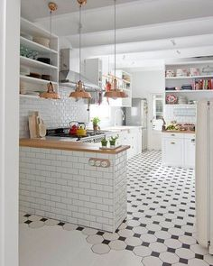 """7,812 Likes, 31 Comments - NORDIK SPACE (@nordikspace) on Instagram: """"So white and bright. via @unknown #scandinavian #interior #kitchen #simplicity #whiteliving"""""""