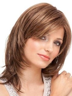 Graceful Medium Layered Straight Lace Front Synthetic Wig 14 Inches Item # W24483  Original Price: $355.00 Latest Price: $94.99