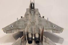 Istvan Michalko's scale models: F-15C IDF (No. 575) - Hasegawa 1/48 - Finished!
