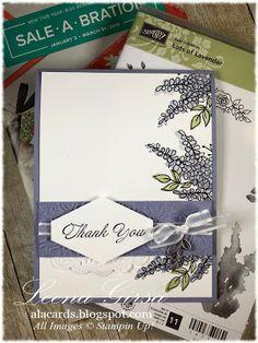 A La Cards: Lavender Thanks
