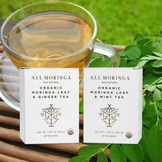 The Moringa Leaves can be added to your daily smoothies, shakes, health drinks, and soups. Or they can be used to prepare healthy and delicious Moringa tea.⠀ Try Our Moringa Mint and Moringa Ginger Tea Today! Immune System Boosters, Boost Immune System, Moringa Benefits, Moringa Leaves, Moringa Powder, Mint Tea, Ginger Tea, Candle Jars, Smoothies