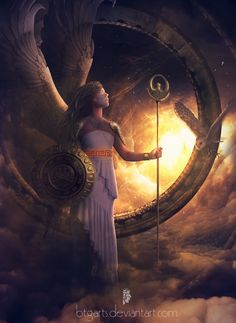 athena / αθηνά: daughter of zeus, the goddess of wisdom, civilization, arts and strategy. she is fierce and brave in battle, and became the patron goddess of athens after winning a contest against poseidon