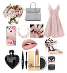 """""""Style #4"""" by mei-mei-1 on Polyvore featuring Fratelli Karida, Hermès, Casetify, Poppy Jewellery, MAKE UP FOR EVER, Yves Saint Laurent and Lipsy"""