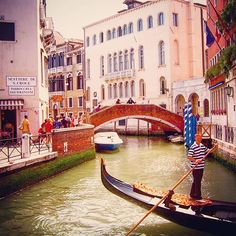 Exploring the canals of #Venice #Italy #Europe | Photo by @socialnomads