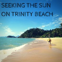 Beautiful Trinity Beach in Far North Queensland. Trinity Beach, Holiday Activities, School Holidays, Cairns, Exploring, Places To Go, Palm, Tropical, Sun