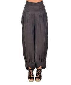 Love this Anthracite Linen Lounge Pants on #zulily! #zulilyfinds
