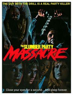 The Slumber Party Massacre 1982 Horror Movie Slasher By Mario.Frias