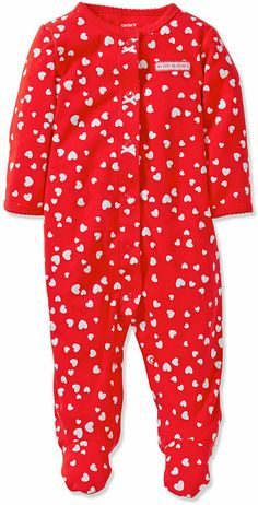 Carter's Baby Girls' Valentine's Day Coverall on shopstyle.com