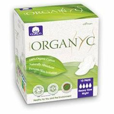 Organyc Organic Cotton Night Pads With Folded Wings, 10 ct by Organyc. Save 23 Off!. $5.72. Feminine pads from many of the best known brands also contain something called SAPs, which stands for Super Absorbent Powders. While doing their job to absorb better, SAPs are made from polymers that are derived from crude oil. Think how close those SAPs will be to you.Unlike most feminine care brands, Organ(y)c contains no synthetics, no SAPs and no wood pulp. For good hygiene, we ble...