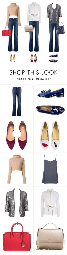 """""""Blue Jeans 3 Days"""" by ch-swisss ❤ liked on Polyvore featuring Acne Studios, Leonardo Principi, H&M, Chiara Ferragni, Topshop, Alice In The Eve, FABIANA FILIPPI, MCM, Givenchy and Chanel"""