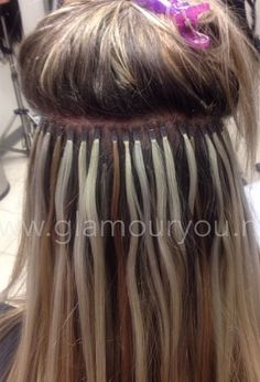 Add fullness without braids signature weave my work microtube hair extensions glamouryou pmusecretfo Images