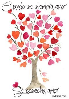 Heart tree print taken from original watercolor painting by Yael Berger Valentine Tree, Valentines Sale, Valentine Crafts, Heart Tree, Heart Day, I Love Heart, Watercolor Cards, Watercolor Paintings, Watercolor Heart