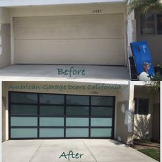 Grey cobbled contemporary driveway with paler trim and for Garage door repair palm beach gardens