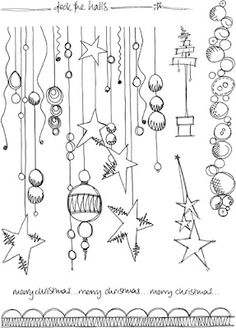 Jo Firth-Young: Christmas! JOFY stylee... more cute christmas doodles