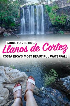 Llanos de Cortez is Costa Rica's most beautiful and top-rated waterfall! Here's how to find it, and everything you need to know about visiting! #CostaRica #waterfall