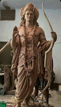 Shiva Art, Ganesha Art, Hindu Art, Arte Krishna, Krishna Statue, Lord Ganesha Paintings, Krishna Painting, Buddha Sculpture, Sculpture Art