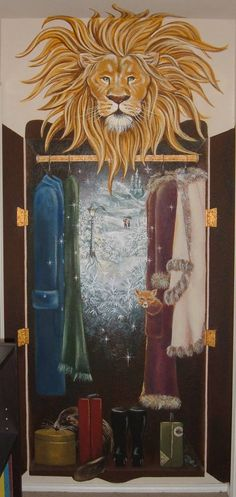 Narnia - if I ever have a house that could handle a mural School Displays, Library Displays, Classroom Displays, Class Displays, Classroom Walls, Classroom Themes, Narnia Wardrobe, Reading Display, School Murals