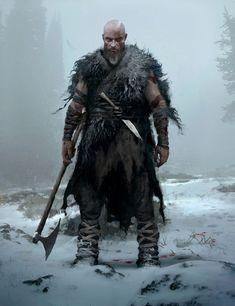 Kratos Concept from God of War