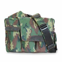 Diaper Dude® Messenger II Diaper Bag in Camo - BedBathandBeyond.com