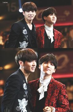 Jungkook and Suga || Jungkook makes Suga look so smol