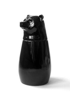 Fauna jar bear, Matias Liimatainen. Kinda like the organ embalming jars from Egypt.