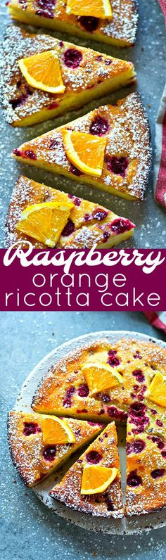 Ricotta cheese transforms this raspberry orange ricotta cake into a rich, dense, and INCREDIBLY moist dessert you won't be able to get enough of! It's such a simple cake you need in your cake repertoire!