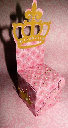 Caixa Trono Coroa
