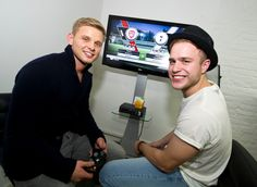 Jeff Brazier & Olly Murs were among those in attendance at Celebrity Gaming Club's FIFA 12 Launch Party. Olly Murs, Launch Party, Attendance, Fifa, Gaming, Product Launch, Celebrity, Videogames, Game