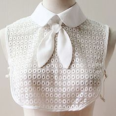 Cheap blouse false collar, Buy Quality detachable collar directly from China false collar Suppliers: women apparel accessories blouse false collar eaton collar detachable collar Diy Summer Clothes, Diy Clothes, Clothes For Women, Faux Col, Sewing Collars, Diy Collier, Diy Kleidung, Detachable Collar, Collar Designs