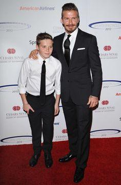 David & Brooklyn Beckham: Dashing Duo