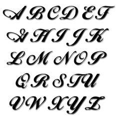 fonts alphabet - Google Search