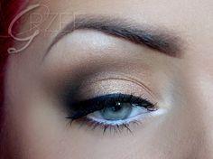 neutral eye using Makeup Geek eyeshadow