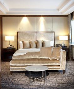 Luxury hotel suites of InterContinental Moscow