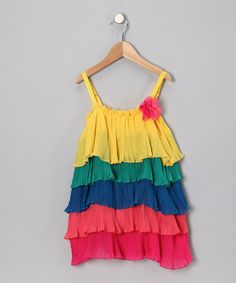 Take a look at this Piñata Dress - Toddler & Girls by Girls: Fourth of July Blow-Out on #zulily today!