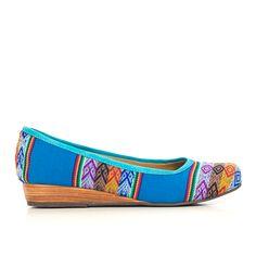 Inti Blue | Ballerina Shoes | Inca Boot Company