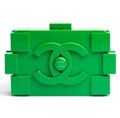 Chanel Lego Clutch #Chanel #Christmas #Lego http://www.trendhunter.com/