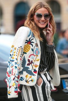 Olivia Palermo - Parigi Alta Moda: lo street style - July 2016 - Vogue.it