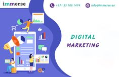 Immerse Digital Solutions is the full-service digital marketing company Dubai that help you make use of the full potential of the internet and social media. Get the best in class digital marketing services at a budgeted cost. Top Digital Marketing Companies, Social Media Marketing Business, Email Marketing Services, Seo Marketing, Digital Marketing Strategy, Seo Services, Content Marketing, Companies In Dubai, Brand Promotion